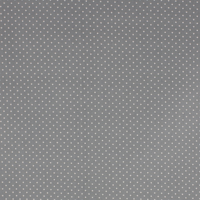 Fabric Freedom - Cotton Poplin - Grey with White Spots - Fat Quarter