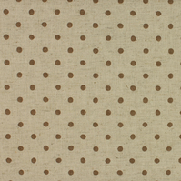Sevenberry - Linen Mix - Brown spot on Stone - Fat Quarter