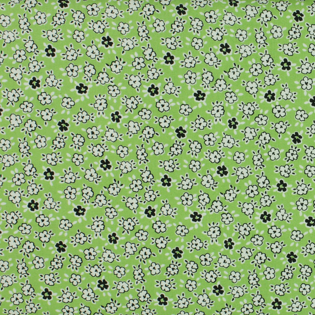 Windham Fabrics - Playdate - Floral - Green - Fat Quarter