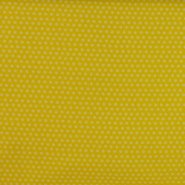 Windham Fabrics - The Cats Meow - Yellow Dots - Fat Quarter