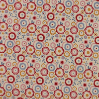 Tilda - Candy Bloom - Candy Flower - Dove White - Limited Edition - Fat Quarter