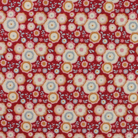 Tilda - Candy Bloom - Candy Flower - Red - Limited Edition - Fat Quarter