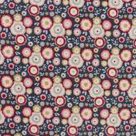 Tilda - Candy Bloom - Candy Flower - Stone Blue - Limited Edition - Fat Quarter
