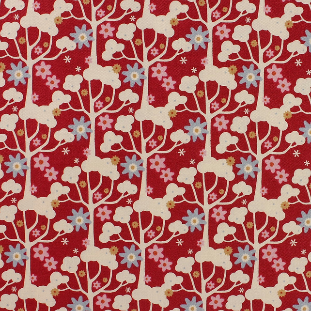 Tilda - Candy Bloom - Wildgarden - Red - Limited Edition - Fat Quarter