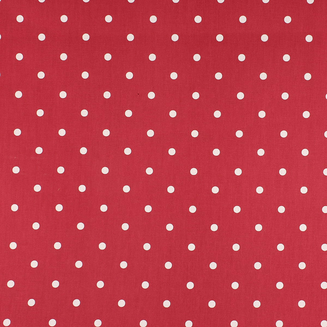Dotty - Raspberry - half metre length