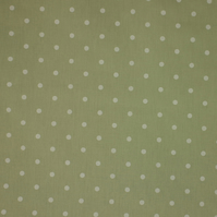 Dotty - Sage Green - half metre length