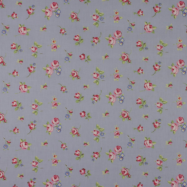 Rosebud - Powder Blue - half metre length