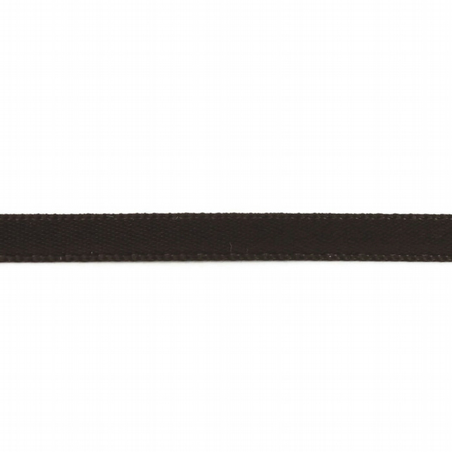 Double Satin Ribbon - Chocolate - 6mm