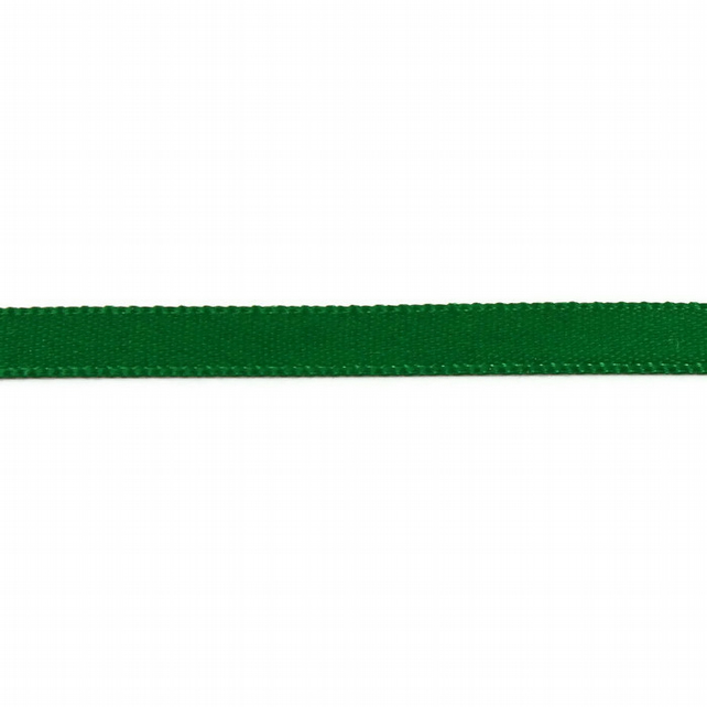 Double Satin Ribbon - Emerald Green - 6mm