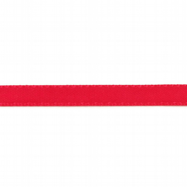 Double Satin Ribbon - Hot Pink - 6mm