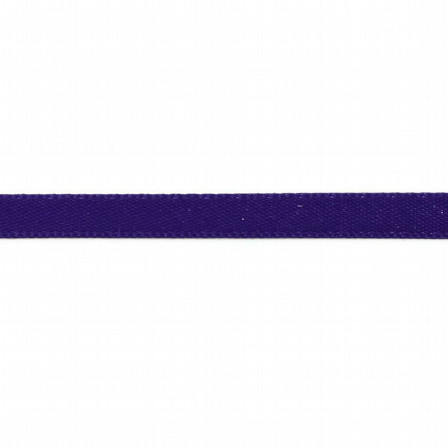 Double Satin Ribbon - Regal Purple - 6mm