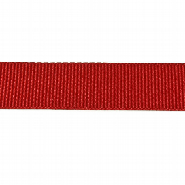 Berisfords Grosgrain Ribbon - Red - 16mm