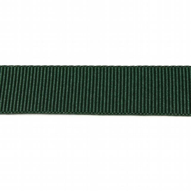 Berisfords Grosgrain Ribbon - Forest Green - 10mm