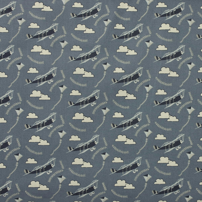 Fabric Freedom - Head in the Clouds - Planes - Fat Quarter