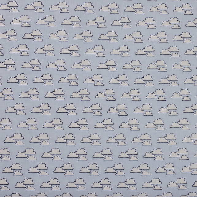Fabric Freedom - Head in the Clouds - Clouds - Fat Quarter