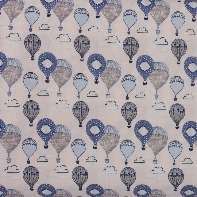 Fabric Freedom - Head in the Clouds - Hot Air Balloons - Fat Quarter