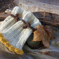 Harvest Time Scarf  and glove set