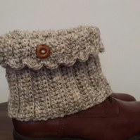 Boot Toppers Crochet
