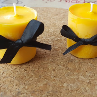 Handmade Samhain Halloween pumpkin spiced scented aromatherapy candles