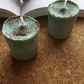 Handmade Sage scented aromatherapy cleansing candles