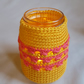 Twinkling Candle Cover with a soft glow