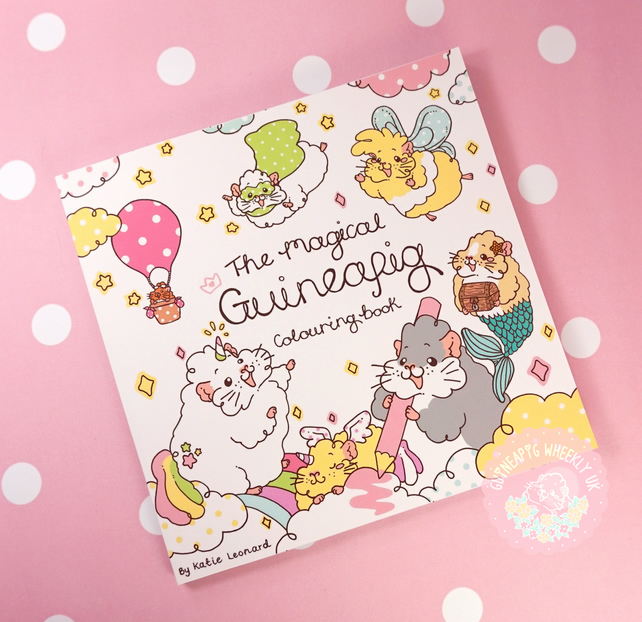 Guinea Pig Colouring Book - Volume One