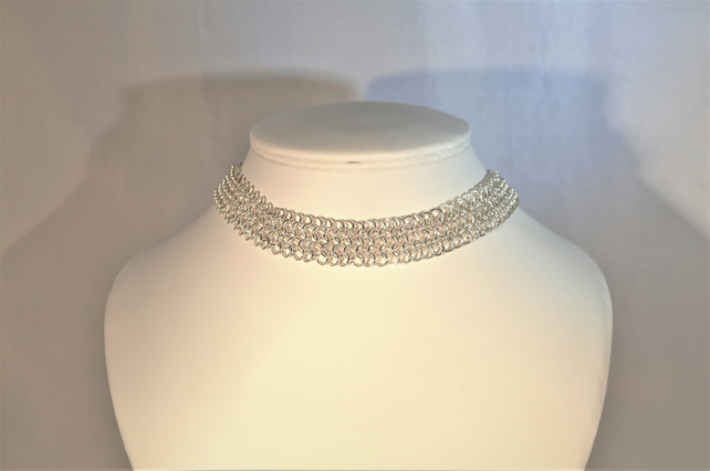 Chainmaille choker