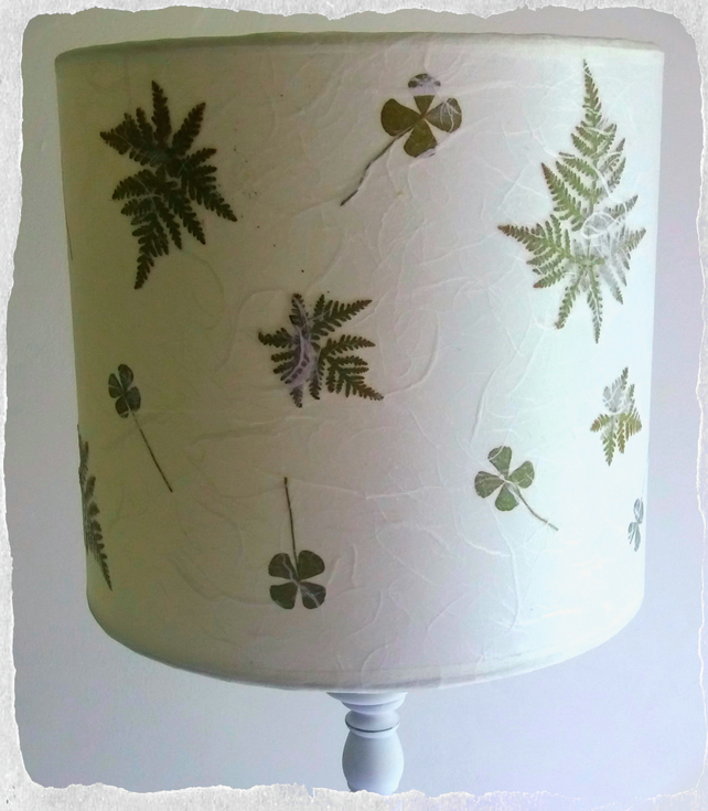 Lucky Four Leaf Clover Lampshade
