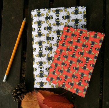 Bee Blank Notebooks Set