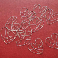 Wire hearts (NEW)