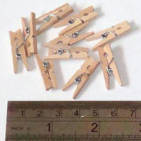 Wooden Pegs (NEW)
