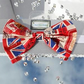 Red Union Jack Headband