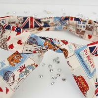 Union Jack Twisted Headband