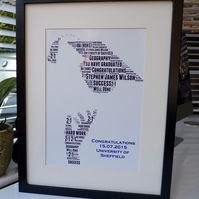 A4 Personalised Graduation Print