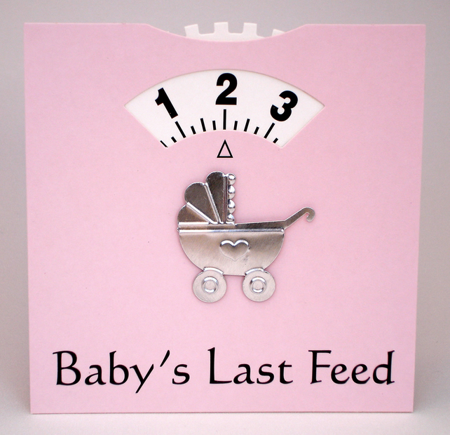 Pink Baby Feed wheel