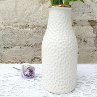 Gold Top Porcelain Vase