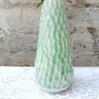 Sea Green Porcelain Vase