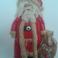 salt dough father Christmas