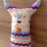 FUNKY OWL SOFT ORNAMENT