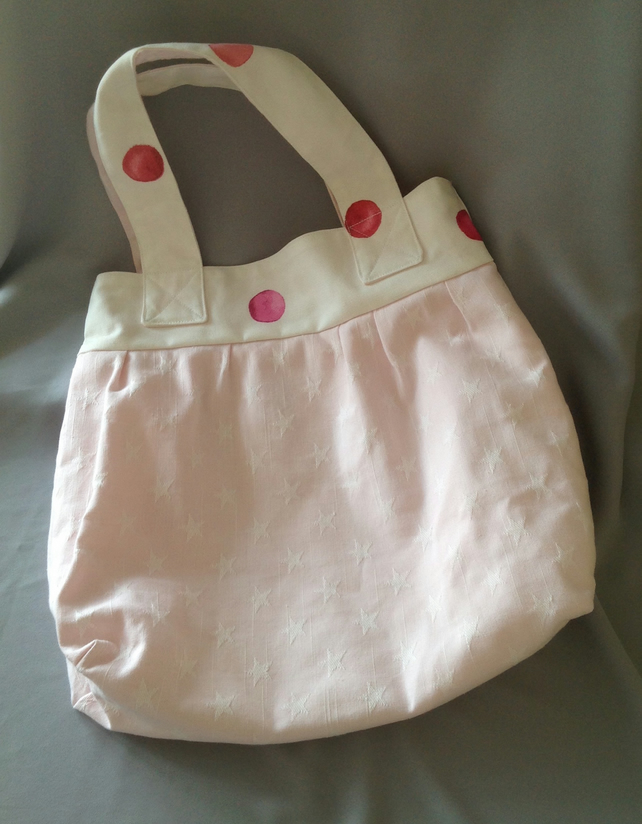 Star and dots Tote