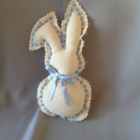Hanging Bunny Easter decoration
