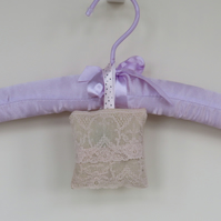 Vintage looking lavender bag