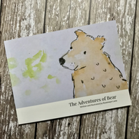 The Adventures of Bear story book with illustrations