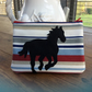 Horse Appliqué Cosmetic Bag or Phone case