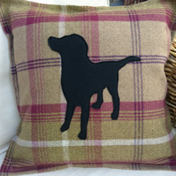 Labrador cushion cover. Please message if you would like another breed.