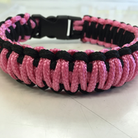 Paracord dog lead and collar set