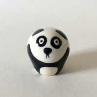Little handmade pottery panda.