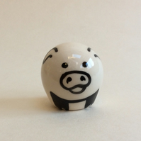 Little handmade pottery pig.