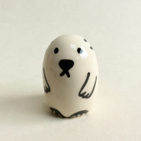 Little handmade polar bear.