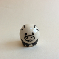 Little handmade pottery piggy.